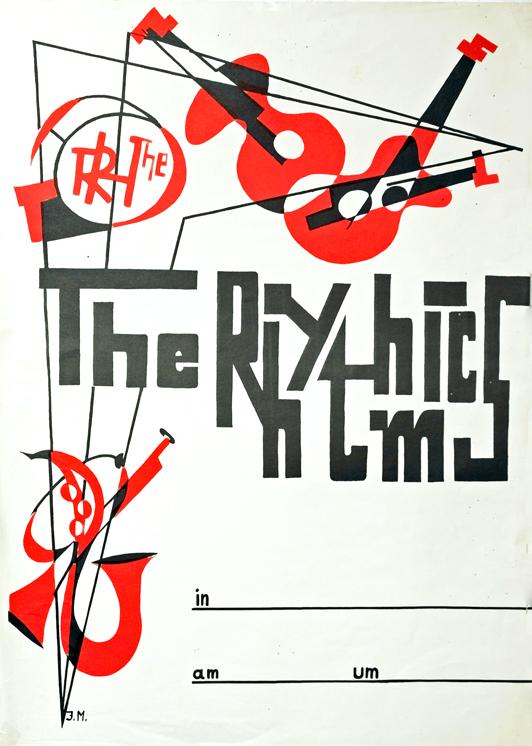 Altes Plakat Rhythmics